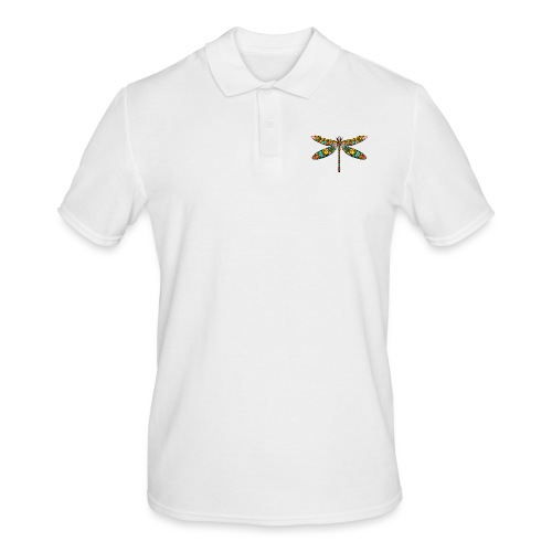 DRAGONFLY SKULL - Männer Poloshirt