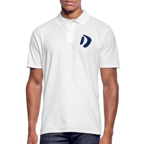 Logo D Blue DomesSport - Männer Poloshirt