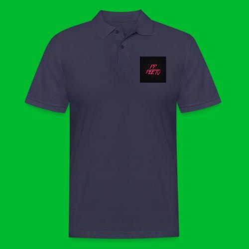 Ppppeetu logo - Miesten pikeepaita