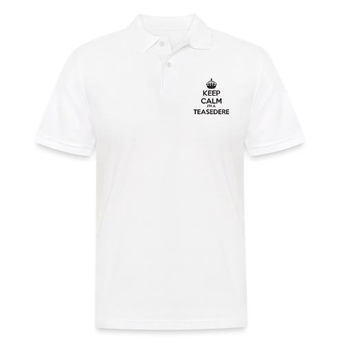 Teasedere keep calm - Men's Polo Shirt