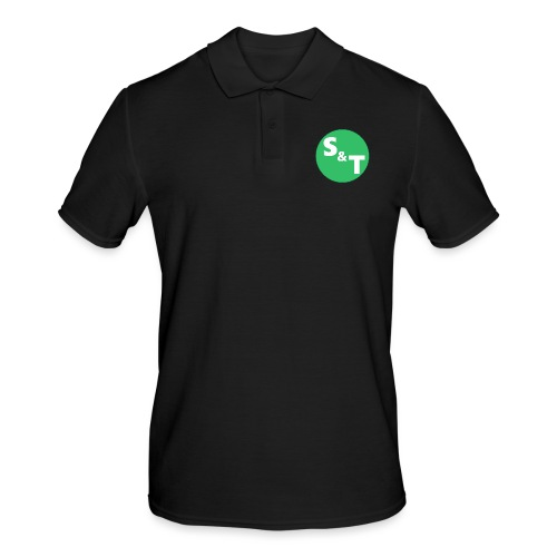 ST Main Logo - Men's Polo Shirt