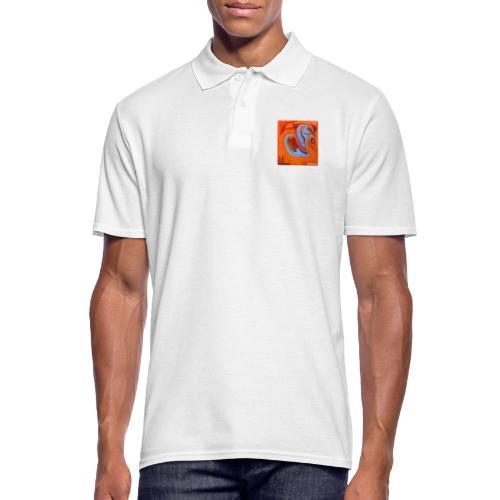 TIAN GREEN Mosaik DK005 - Herzenswelten - Männer Poloshirt
