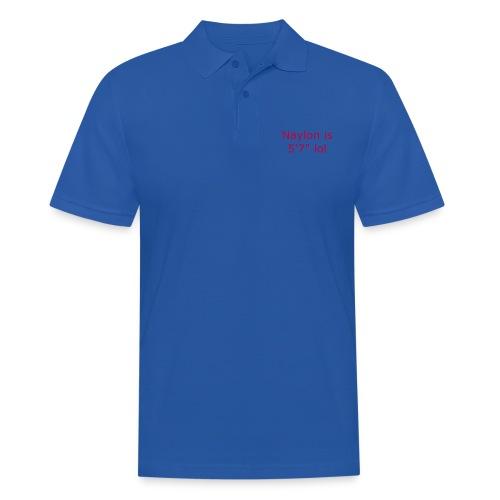 Naylon is 5'7 lol - Men's Polo Shirt
