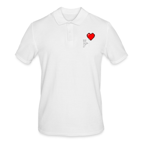 Options of the heart - Herre poloshirt