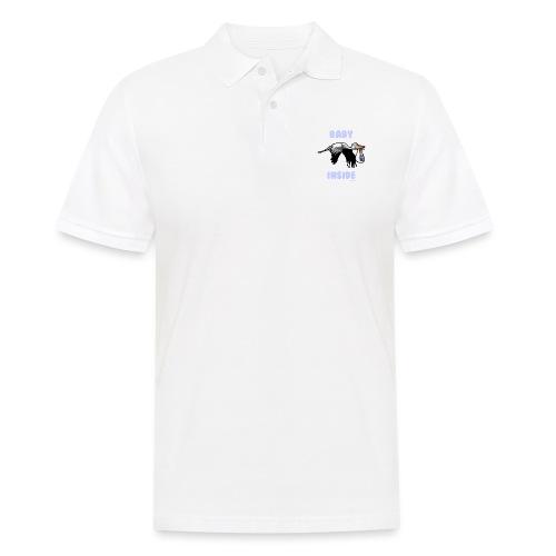 Babyinside - Boy - Männer Poloshirt