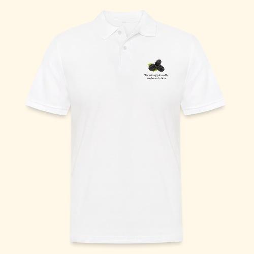 Picking blackberries - Men's Polo Shirt