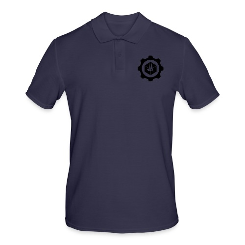 Jebus Adventures Logo (Transparent) - Men's Polo Shirt
