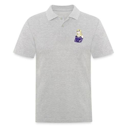Sad-chan v2 Arms Crossed - Men's Polo Shirt