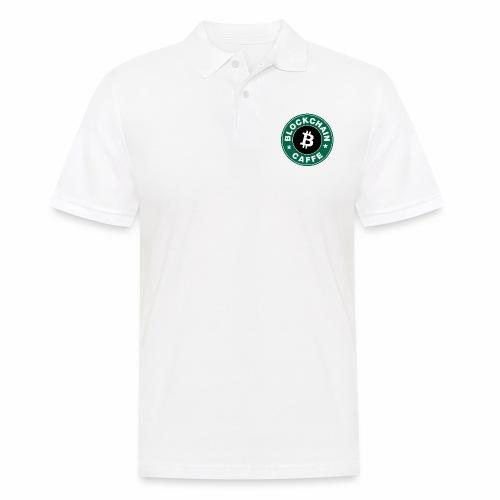 BlockChain Caffè Logo - Polo da uomo