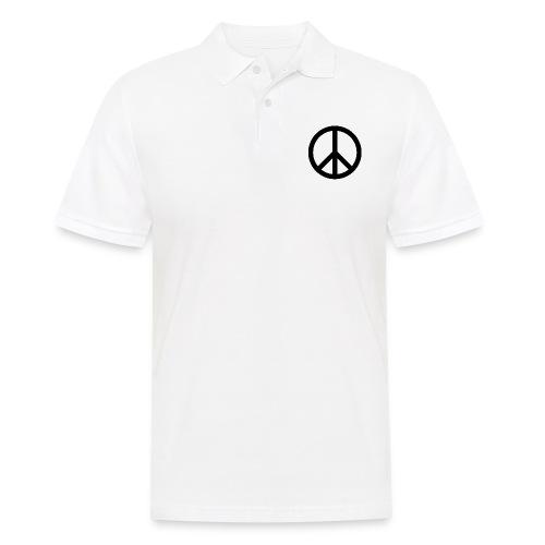 Peace Teken - Mannen poloshirt
