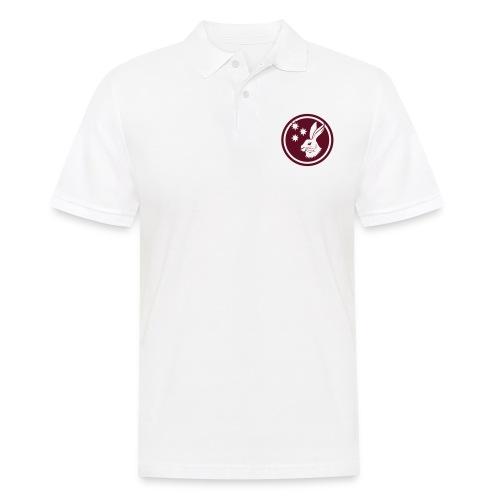 Reilinger Hase im Kreis - Männer Poloshirt