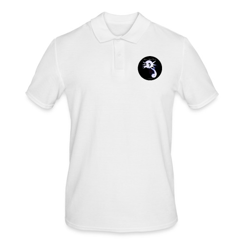 Yung Seepferd logo - Männer Poloshirt