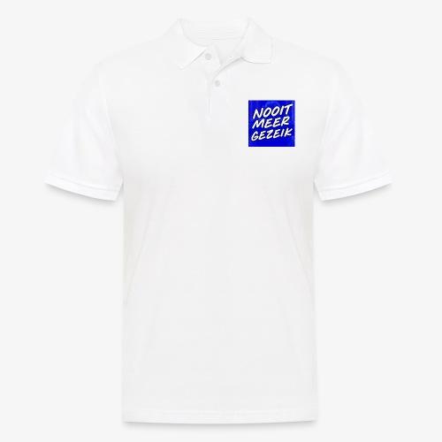 De 'Nooit Meer Gezeik' Merchandise - Mannen poloshirt