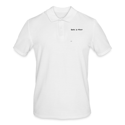 Design_dev_blague - Polo Homme