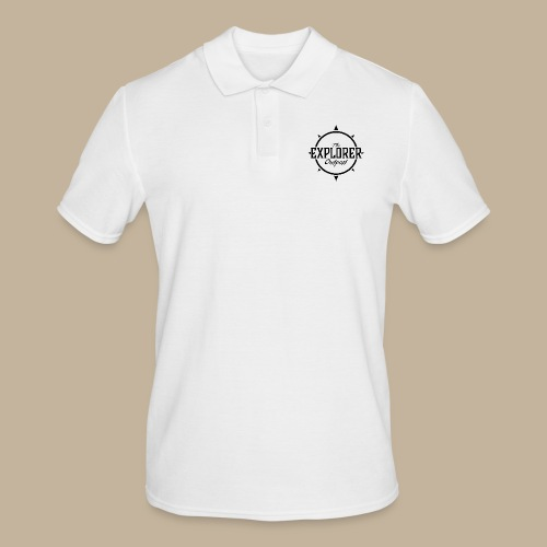 Black TEO Logo - Men's Polo Shirt