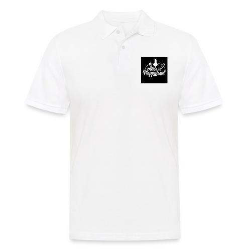 Alice in Nappyland TypographyWhite 1080 - Men's Polo Shirt