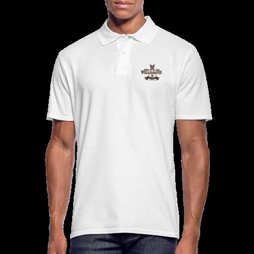 Geweihbaer Wellenreiter - Männer Poloshirt