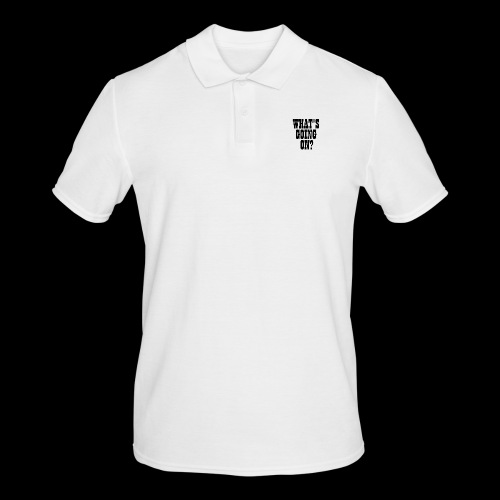 What's Going On? The Snuts - Men's Polo Shirt