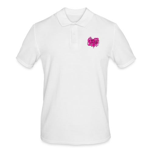 delicious pink - Men's Polo Shirt