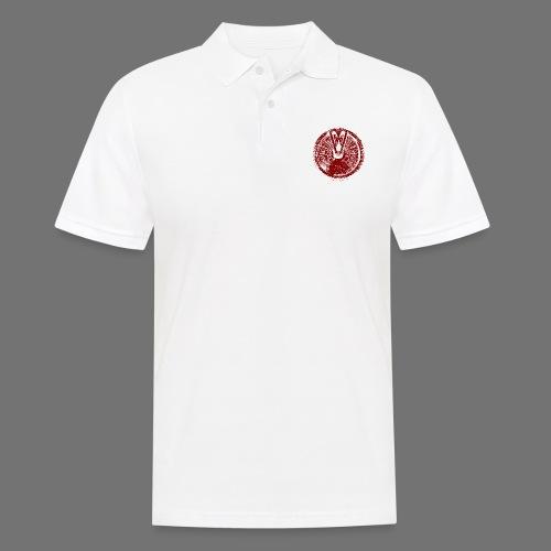 Maschinentelegraph (czerwona oldstyle) - Koszulka polo męska