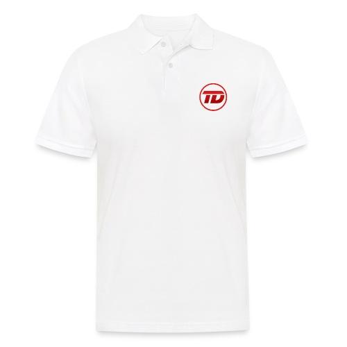 Red DyNo Logo - Men's Polo Shirt