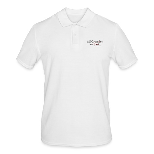 All Crusades Are Just. Alt.1 - Men's Polo Shirt