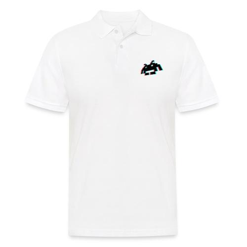 invader3dschwarz1 - Männer Poloshirt