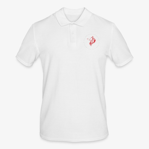The NoCopyright BassBooster Logo No black - Mannen poloshirt