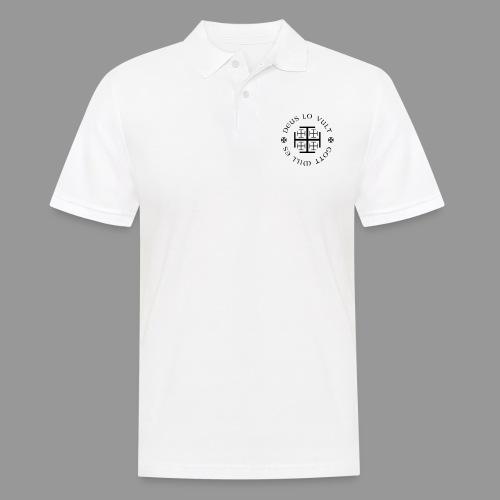 deus lo vult - Gott will es - Männer Poloshirt