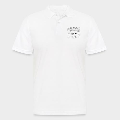 European capitals - Men's Polo Shirt