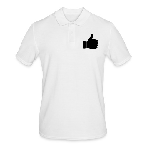 I like - gefällt mir! - Männer Poloshirt