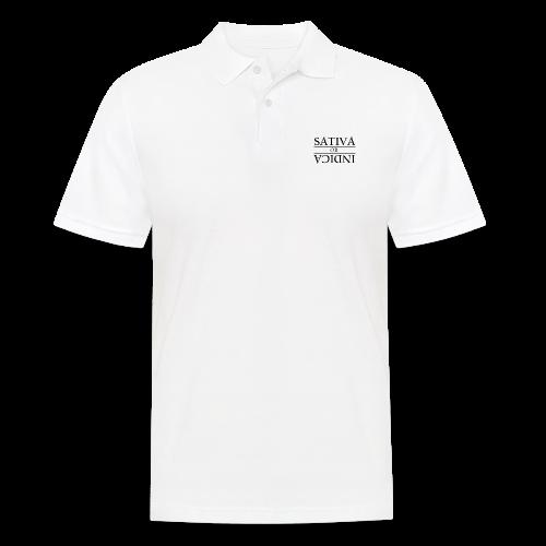 SATIVA OR INDICA - Männer Poloshirt