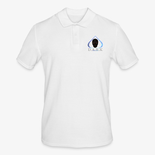 FB Logo 2017 trans halb - Men's Polo Shirt