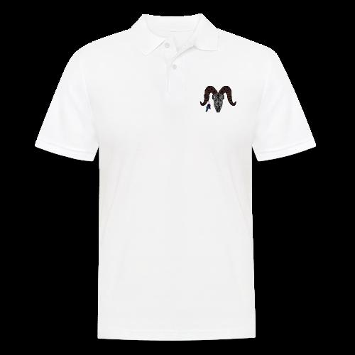 Widder-Federn - Männer Poloshirt