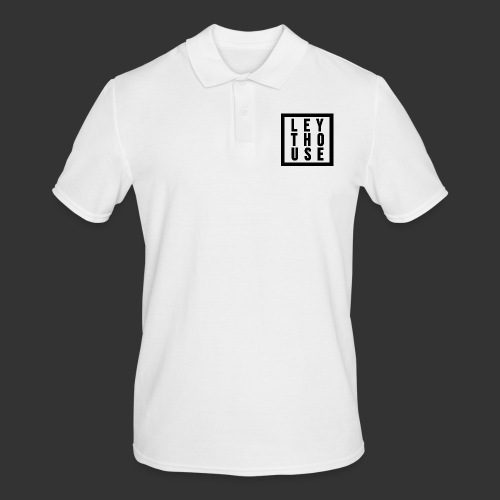 LEYTHOUSE Square black - Men's Polo Shirt