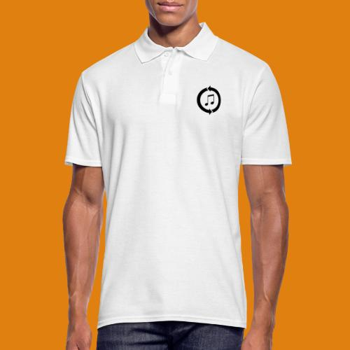 music, renew music, music, t-shirt music - Men's Polo Shirt