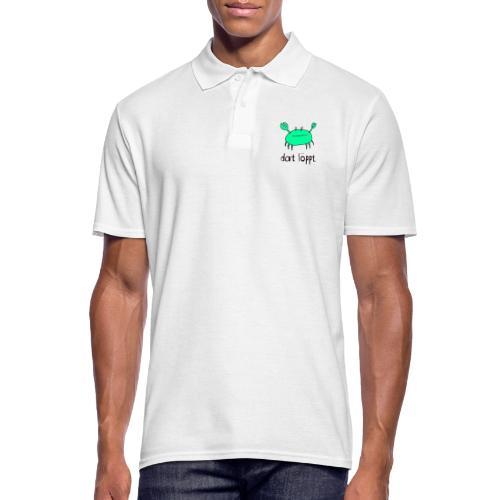 Ostfriesland Fun - Dat Löppt Strandkrabbe - Männer Poloshirt