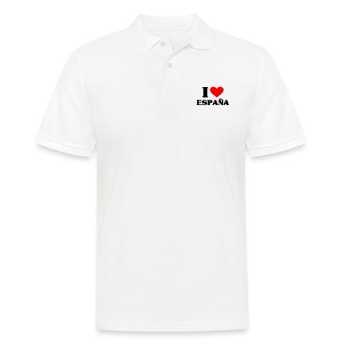 I love Espana - Männer Poloshirt