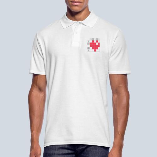 Heart Tshirt Women - Polo Homme