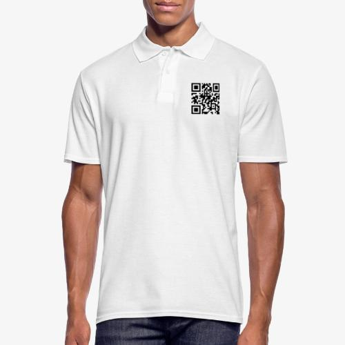 QR Code - Men's Polo Shirt