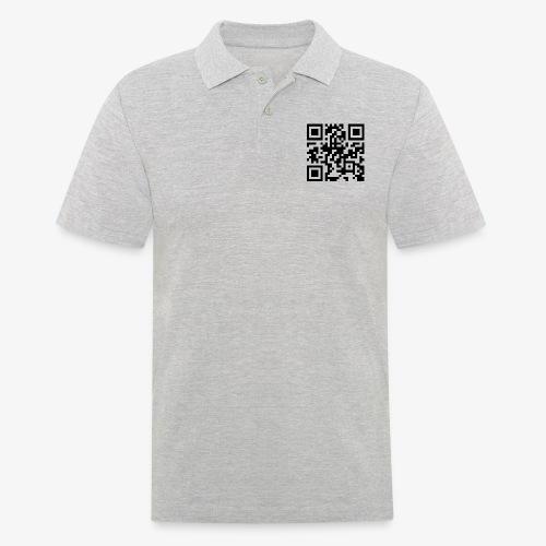 QR Code - Men's Polo Shirt