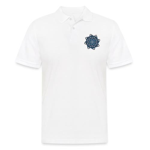 Mandala 3 - Männer Poloshirt