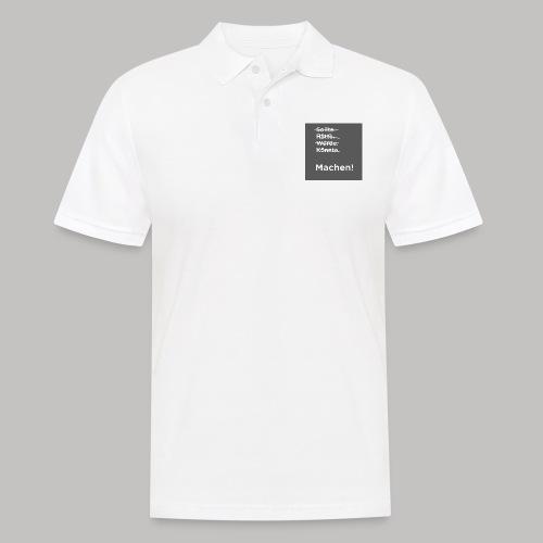 Machen - Männer Poloshirt