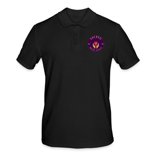 Spread Peace Through Music - Men's Polo Shirt