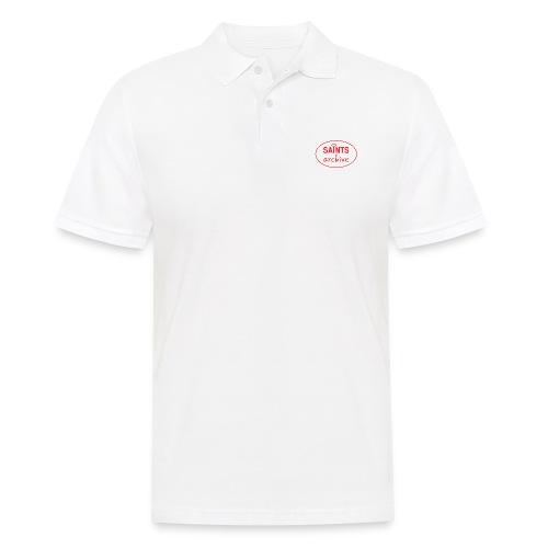 Saints Archive - White Logo - Men's Polo Shirt