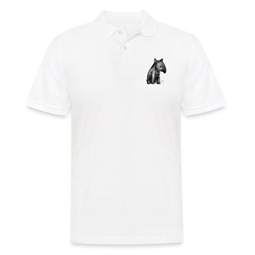 Tapir Baby mit Fliege - Männer Poloshirt