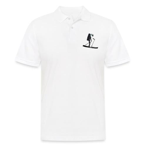 Moonlight Skiing - Men's Polo Shirt
