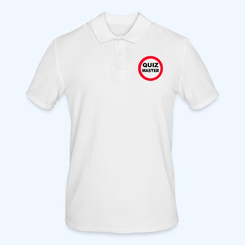 Quiz Master Stop Sign - Men's Polo Shirt