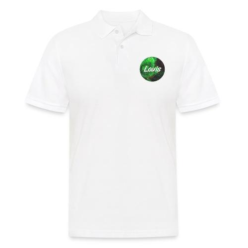 Louis round-logo - Männer Poloshirt