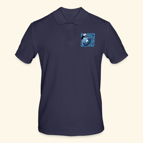 i STEVE WORMS - Men's Polo Shirt